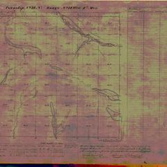 [Public Land Survey System map: Wisconsin Township 31 North, Range 12 West]