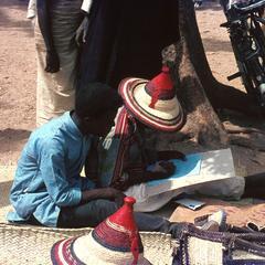 Fulbe Letter Writer in Maiduguri Market