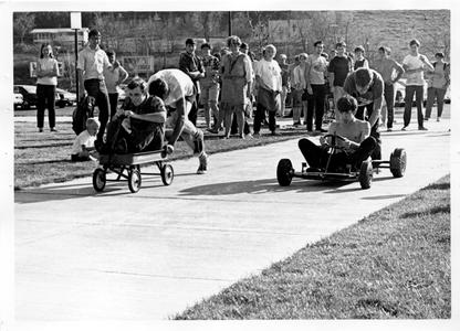 Burlap Olympic races