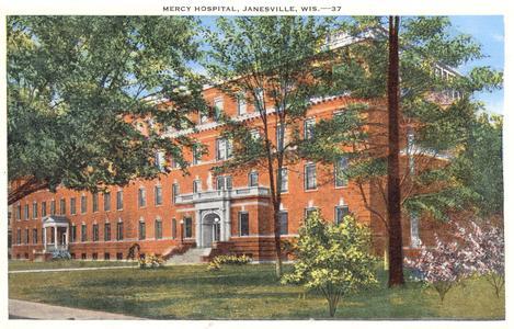 Mercy Hospital, 1930