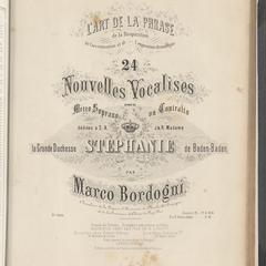 24 nouvelles vocalises : pour mezzo-soprano ou contralto