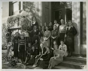 Women's Athletic Association group photograph