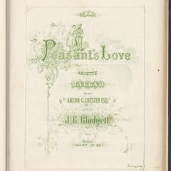 Peasant's love
