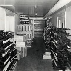 Crowded storage space