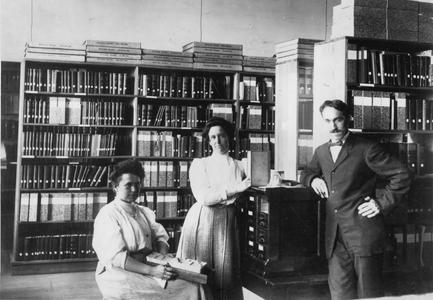 Charles McCarthy in legislative reference library