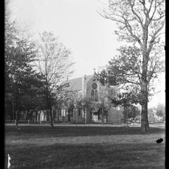St. Matthews Church from middle of park