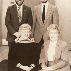 Staff of UW-Manitowoc, Manitowoc, February, 1987