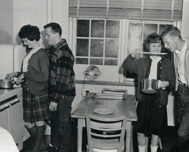 Cooking in dorm kitchen