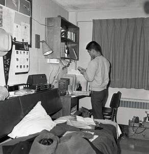Dorm life in the 1960s