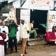 Shop on a Main Street in Freetown