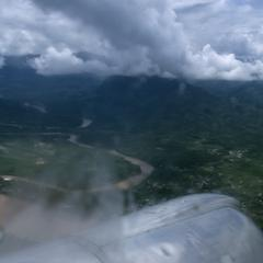 Aerial view of Luang Prabang
