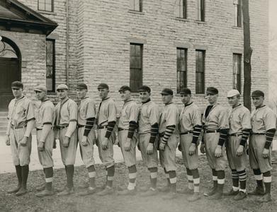 1922 Wisconsin Mining School baseball team