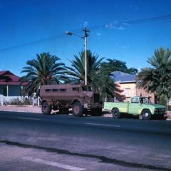 South African Tank in Windhoek