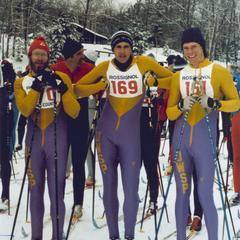 Cross country ski team