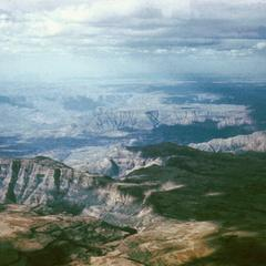 Aerial View of West Ethiopian Highlands