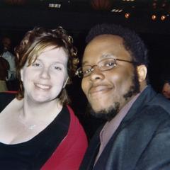 Two Students at 2007 Ebony Ball
