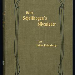 Herrn Schellbogen's Abenteuer