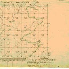 [Public Land Survey System map: Wisconsin Township 03 North, Range 01 West]