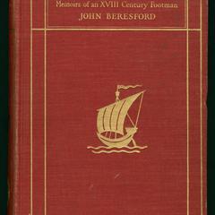 Memoirs of an eighteenth-century footman