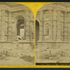 Porte du vestibule des Tuileries