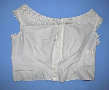 Linen corset cover