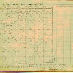 [Public Land Survey System map: Wisconsin Township 11 North, Range 04 East]