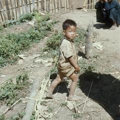 Ethnic Khmu' boy