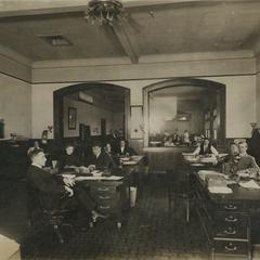 Chicago Brass Company office employees