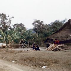 Yao (Iu Mien) village in Houa Khong Province