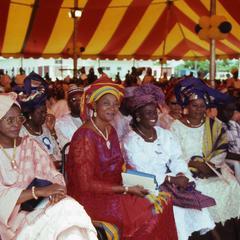 Women at coronation