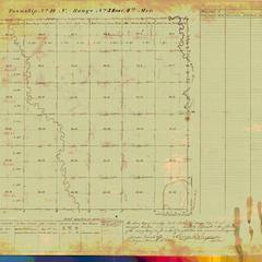 [Public Land Survey System map: Wisconsin Township 18 North, Range 03 East]