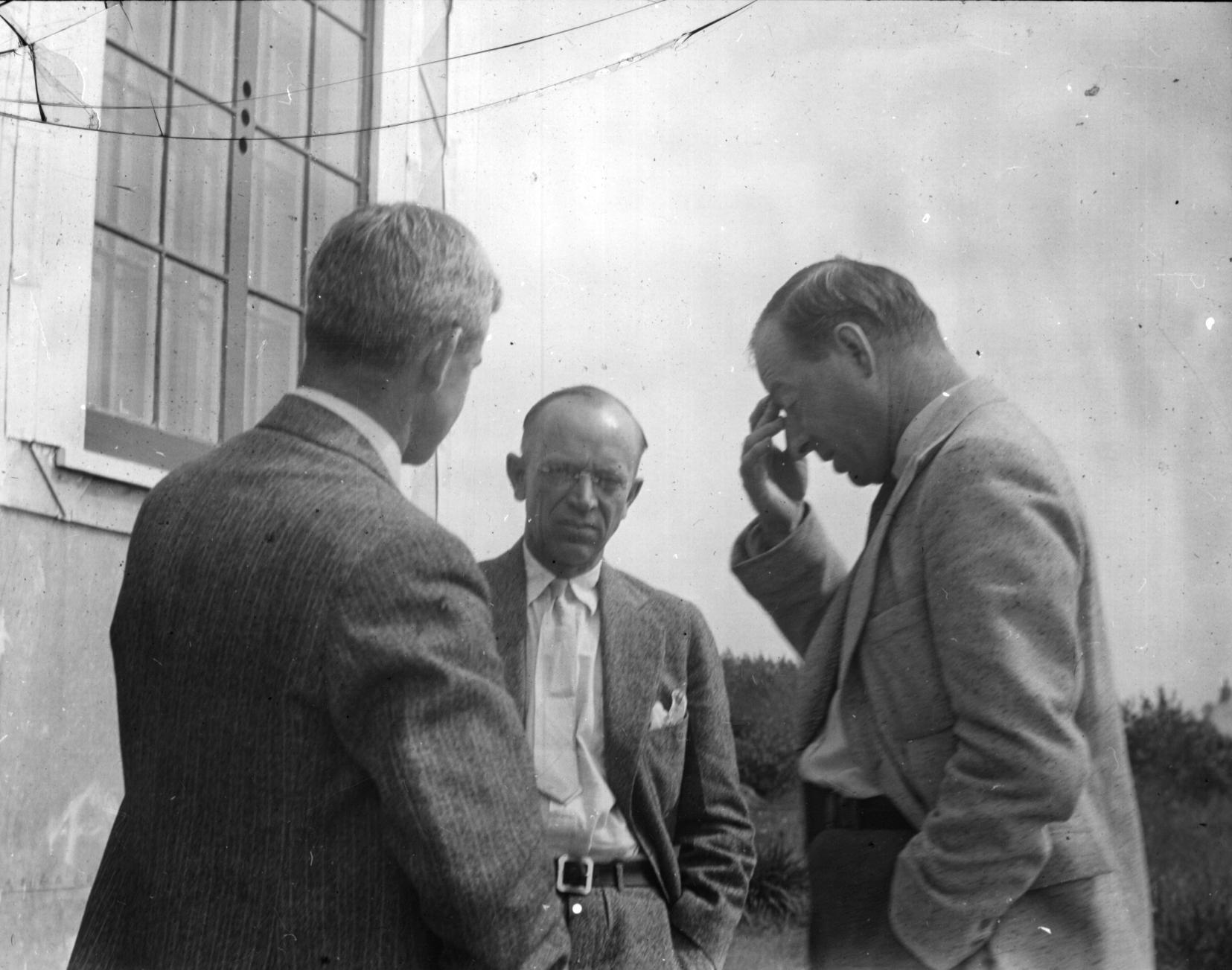 Dr. A.G. Huntsman, Aldo Leopold, and H.E. Anthony
