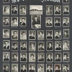 1963 New Glarus High School graduating class