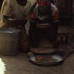 Women preparing inu