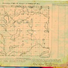 [Public Land Survey System map: Wisconsin Township 37 North, Range 20 East]