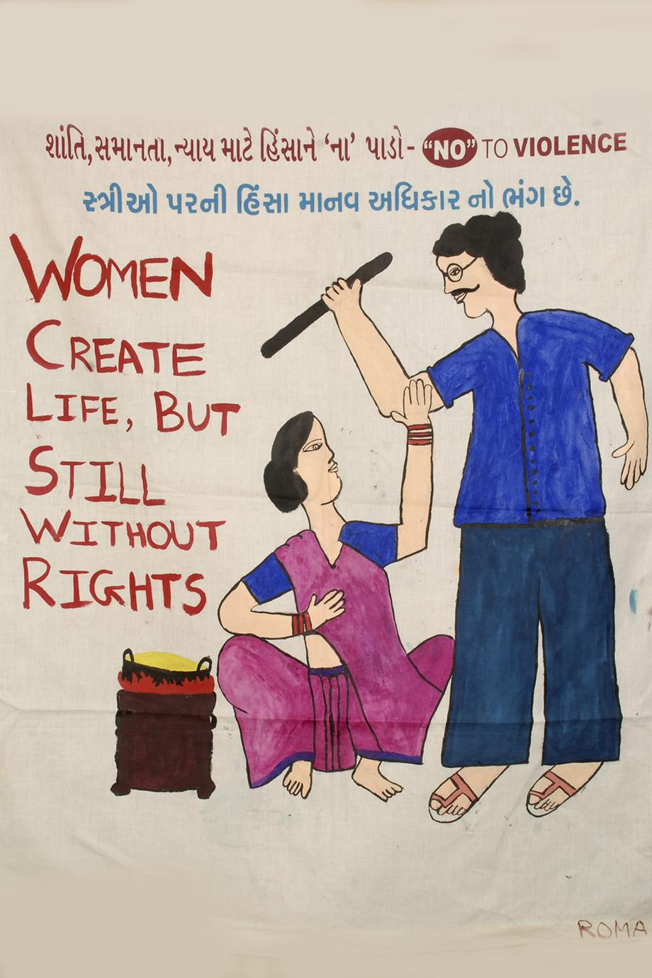Women create lives, but still without rights