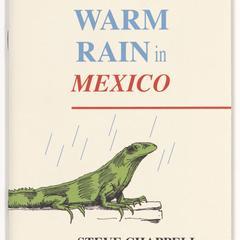 Warm rain in Mexico