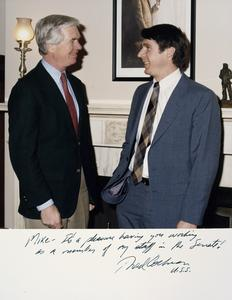 Congressional Fellow Program - Dombeck worked for Senator Cochran as a Congressional Fellow