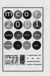 Program for 2001 MCOR