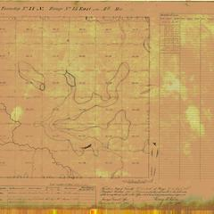 [Public Land Survey System map: Wisconsin Township 37 North, Range 15 East]
