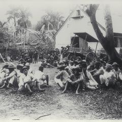 Some captured Filipinos, Manila, 1899