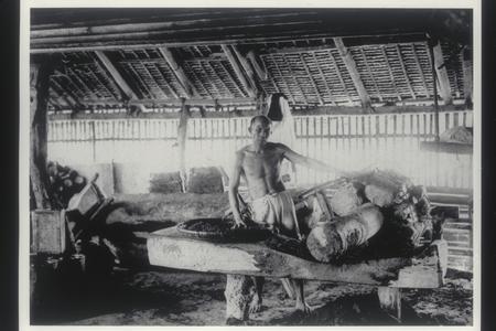 Native coconut oil factory, 1905-1915