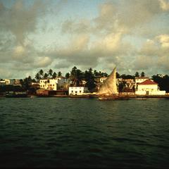 View of Zanzibar Town from the Water