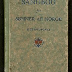 Sangbog for sønner af norge