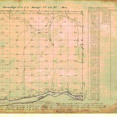 [Public Land Survey System map: Wisconsin Township 09 North, Range 01 East]
