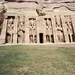 Temple of Queen Nefertari, Wife of Ramses II, at Abu Simbel