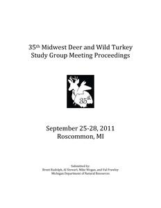 [Proceedings of the Midwest Deer and Wild Turkey Study Group Annual Meeting, 2011]