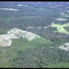 Forest and fields nearing Xayabury