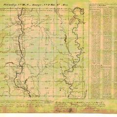 [Public Land Survey System map: Wisconsin Township 28 North, Range 02 West]