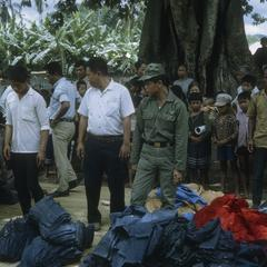 Distribution of relief supplies
